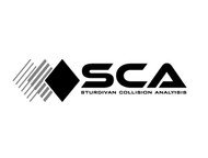 Sturdivan Collision Analyisis.  SCA Logo - Entry #179
