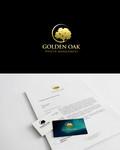 Golden Oak Wealth Management Logo - Entry #129