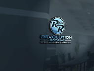 Revolution Roofing Logo - Entry #362