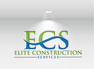 Elite Construction Services or ECS Logo - Entry #104