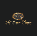 Either Midtown Pawn Boutique or just Pawn Boutique Logo - Entry #25