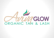 AVIVA Glow - Organic Spray Tan & Lash Logo - Entry #96