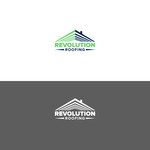 Revolution Roofing Logo - Entry #254