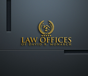 Law Offices of David R. Monarch Logo - Entry #231