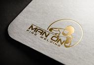 Man on fire welding Logo - Entry #26