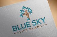 Blue Sky Life Plans Logo - Entry #109