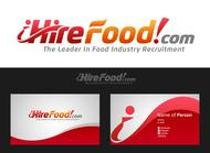 iHireFood.com Logo - Entry #110