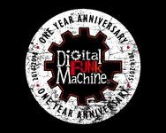 Digital Funk Machine Logo - Entry #36