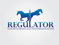 Regulator Thouroughbreds and Performance Horses  Logo - Entry #38