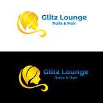 Glitz Lounge Logo - Entry #109