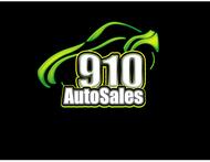 910 Auto Sales Logo - Entry #90