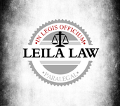 Leila Law Logo - Entry #106