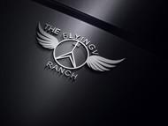 The Flying V Ranch Logo - Entry #10