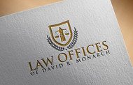 Law Offices of David R. Monarch Logo - Entry #222