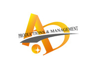 Corporate Logo Design 'AD Productions & Management' - Entry #129