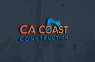 CA Coast Construction Logo - Entry #120