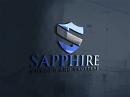 Sapphire Shades and Shutters Logo - Entry #157