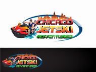 Chicago Jet Ski Adventures Logo - Entry #48