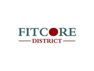 FitCore District Logo - Entry #124