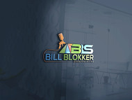 Bill Blokker Spraypainting Logo - Entry #185