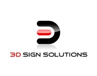 3D Sign Solutions Logo - Entry #150