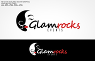 Glamrocks Events needs your design skills! Logo - Entry #18