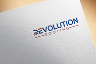 Revolution Roofing Logo - Entry #114