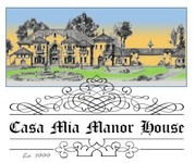 Casa Mia Manor House Logo - Entry #24