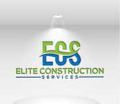 Elite Construction Services or ECS Logo - Entry #218