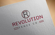 Revolution Fence Co. Logo - Entry #380
