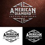 American Diamond Cattle Ranchers Logo - Entry #60