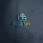 Blue Sky Life Plans Logo - Entry #312
