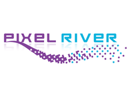 Pixel River Logo - Online Marketing Agency - Entry #28