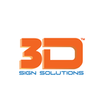 3D Sign Solutions Logo - Entry #57