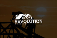 Revolution Roofing Logo - Entry #522