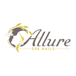 Allure Spa Nails Logo - Entry #134