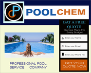 Pool Chem Logo - Entry #85