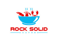 Rock Solid Seafood Logo - Entry #103