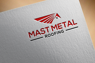 Mast Metal Roofing Logo - Entry #155