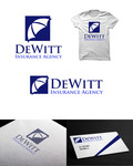 """DeWitt Insurance Agency"" or just ""DeWitt"" Logo - Entry #177"