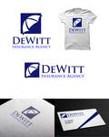 """""""DeWitt Insurance Agency"""" or just """"DeWitt"""" Logo - Entry #177"""
