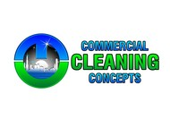 Commercial Cleaning Concepts Logo - Entry #104