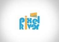 Pixel River Logo - Online Marketing Agency - Entry #183