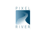 Pixel River Logo - Online Marketing Agency - Entry #188