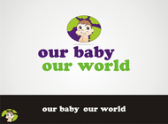 Logo for our Baby product store - Our Baby Our World - Entry #87