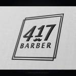 417 Barber Logo - Entry #24