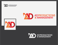 Corporate Logo Design 'AD Productions & Management' - Entry #140