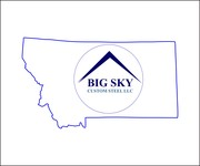 Big Sky Custom Steel LLC Logo - Entry #116