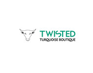 Twisted Turquoise Boutique Logo - Entry #141