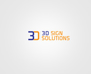 3D Sign Solutions Logo - Entry #60